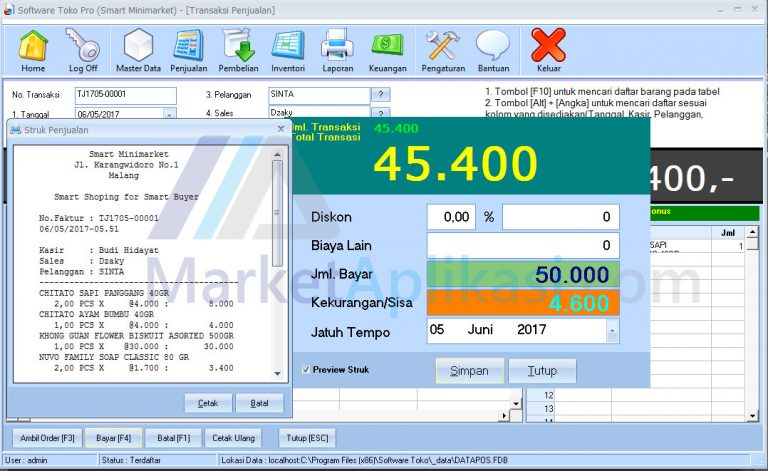 Software Toko03
