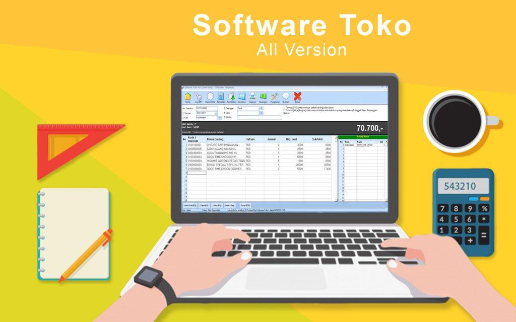 Jual Software Toko di Jakarta